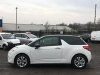 USED 2011 11 CITROEN DS3 1.6 DSTYLE HDI 3d  STUNNING WHITE, ONLY 20 POUNDS ROAD TAX, SERVICE HIST,