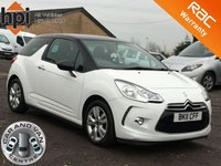 2011 CITROEN DS3 1.6 DSTYLE HDI 3d  £SOLD