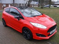 2014 FORD FIESTA 1.0 ZETEC S RED EDITION 3d 139 BHP £8500.00