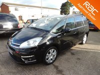 2010 CITROEN C4 PICASSO 2.0 GRAND EXCLUSIVE HDI 5d AUTO 161 BHP £7800.00