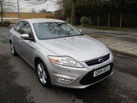 USED 2014 14 FORD MONDEO 2.0 GRAPHITE TDCI 5d 138 BHP GREAT VALUE DIESEL MONDEO  !!!!