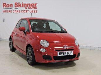 2014 FIAT 500 1.2 S 3d 69 BHP £6299.00