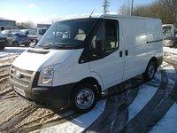 2012 FORD TRANSIT T300 100PS L.X 3000KG SWB LOW ROOF £5295.00