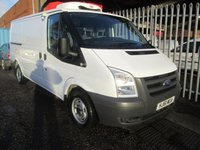 2011 FORD TRANSIT 300 MWB 115PS FRIDGE VAN WITH STANDBY £10495.00