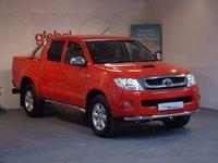 2011 TOYOTA HI-LUX 3.0 D-4D INVINCIBLE 4X4 DCB AUTO 169 BHP £14989.00