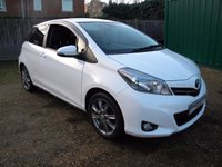 USED 2012 62 TOYOTA YARIS 1.3 VVT-I TREND 3d 98 BHP Half Leather Seats, Sat Nav, Reversing Camera