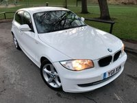 2011 BMW 1 SERIES 2.0 116D SPORT 5d 114 BHP £7450.00