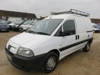 2006 PEUGEOT EXPERT 2.0 HDI 110 SWB NO VAT86880 MILES ONLY £2995.00