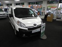 2015 TOYOTA PROACE 2.0 L2H1 HDI 1200 LWB WITH AIR CON 128 BHP £10695.00
