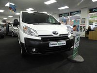 2015 TOYOTA PROACE 2.0 L2H1 HDI 1200 LWB WITH AIR CON 128 BHP £10995.00