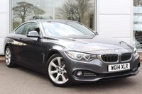 USED 2014 14 BMW 4 SERIES 2.0 425D LUXURY 2d 215 BHP