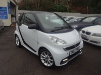USED 2013 63 SMART FORTWO 1.0 PASSION MHD 2d AUTO 71 BHP