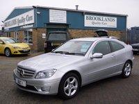 2008 MERCEDES-BENZ CLC CLASS 2.1 CLC220 CDI SE 3d AUTO 150 BHP £7295.00