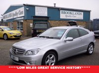 USED 2008 MERCEDES-BENZ CLC CLASS 2.1 CLC220 CDI SE 3d AUTO 150 BHP Low Miles 50417, Automatic, Climate Control Cruise Control On-board computer and lots more