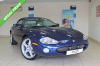 USED 2002 JAGUAR XKR 4.0 XKR 2d AUTO 370 BHP CONVERTIBLE VIEWING IS HIGHLY RECOMMENDED TO FULLY APPRECIATE THIS CLASSIC JAGUAR AND IS KEPT IN OUR HEATED SHOWROOM.