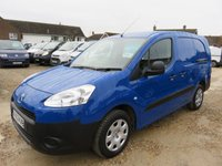 2013 PEUGEOT PARTNER 1.6 HDI L2 LWB 750 AIR CON ELECTRIC PACK 8597 MILES ONLY £7995.00