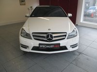 2012 MERCEDES-BENZ C CLASS 2.1 C220 CDI BLUEEFFICIENCY AMG SPORT PLUS 2d AUTO 168 BHP £15995.00