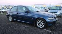 2005 BMW 3 SERIES 1.8 316TI ES 3d 114 BHP £1450.00