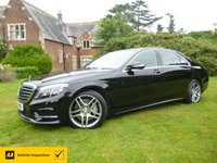 USED 2016 MERCEDES-BENZ S CLASS 2.1 S 300 H L AMG LINE EXECUTIVE 4d 201 BHP Finance for Chauffer & Co Directors Poor Credit Specialist Lender