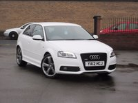 2012 AUDI A3 2.0 TDI QUATTRO S LINE SPECIAL EDITION 3dr 168 BHP £12650.00