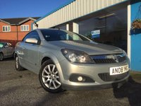 USED 2008 08 VAUXHALL ASTRA 1.8 TWIN TOP SPORT 3d 140 BHP LOW MILEAGE CONVERTIBLE