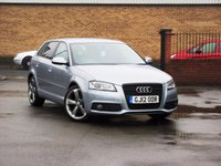 2012 AUDI A3 2.0 SPORTBACK TDI S LINE SPECIAL EDITION 5dr 138 BHP £11350.00