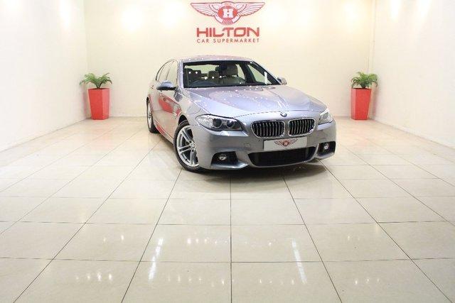 2014 63 BMW 5 SERIES 2.0 520d M Sport 4dr