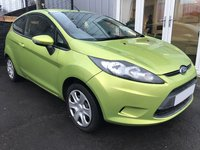 2009 FORD FIESTA 1.2 STYLE 3d 81 BHP £2999.00