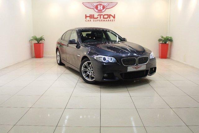 2011 61 BMW 5 SERIES 2.0 520d M Sport 4dr