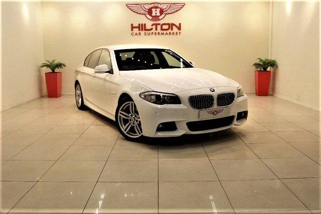 2010 60 BMW 5 SERIES 2.0 520d M Sport 4dr