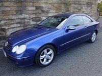 2004 MERCEDES-BENZ CLK 2.7 CLK270 CDI AVANTGARDE 2d AUTO 170 BHP £2800.00