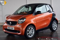 2015 SMART FORTWO 1.0 PASSION (PREMIUM PACK) COUPE 5-SPEED 71 BHP £7890.00
