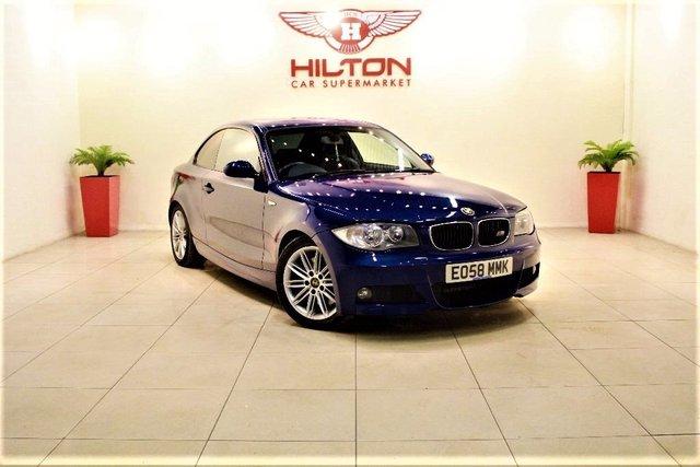 2008 58 BMW 1 SERIES 2.0 123d M Sport 2dr