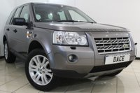USED 2007 07 LAND ROVER FREELANDER 2.2 TD4 HSE 5DR AUTOMATIC 159 BHP CLIMATE CONTROL + SUNROOF + CRUISE CONTROL + MULTI FUNCTION WHEEL + ALLOY WHEELS