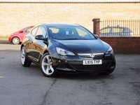 2015 VAUXHALL ASTRA 1.4 GTC SPORT S/S 3dr 118 BHP £8950.00
