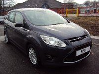 2012 FORD GRAND C-MAX 2.0 GRAND TITANIUM TDCI 5d 138BHP £5990.00