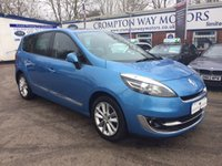 2012 RENAULT SCENIC 1.5 GR DYNAMIQUE TOMTOM LUXE ENERGY DCI S/S 5d 110 BHP £8495.00