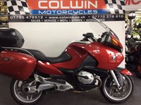 USED 2005 05 BMW R 1200 RT INCLUDING PANNIERS AND TOP BOX R1200RT, TOUR KIT,24000 MILES!