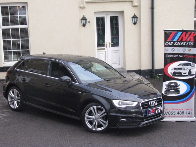 2013 13 AUDI A3 2.0 TDI S LINE 5d 148 BHP SATNAV FASH DAB RADIO SOLD TO SYLVESTER FROM LIECESTER
