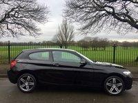 2013 BMW 1 SERIES 1.6 114I SPORT 3d 101 BHP £10995.00