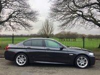 2013 BMW 5 SERIES 2.0 520D M SPORT 4d AUTO 181 BHP £13500.00