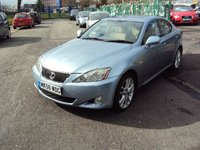 2006 LEXUS IS 220D 2.2 SPORT 4d 175BHP £2590.00