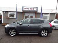 2010 PEUGEOT 3008 2.0 HDI EXCLUSIVE 5DR 150 BHP £6400.00