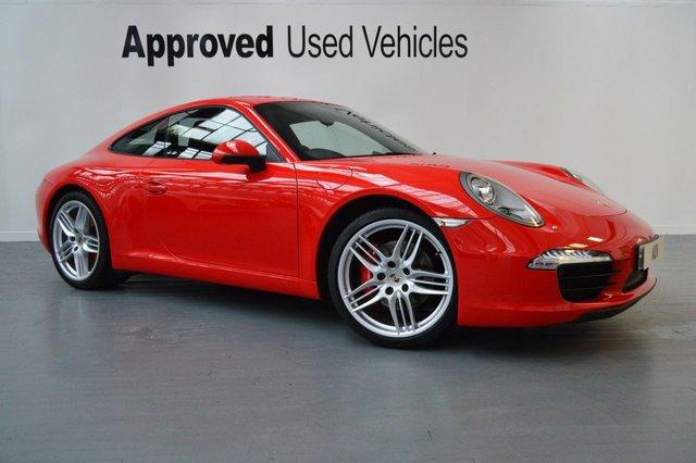 2012 12 PORSCHE 911 MK 991 3.8 CARRERA S PDK 2d AUTO 400 BHP