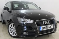 USED 2011 61 AUDI A1 1.6 TDI SPORT 3DR 103 BHP SERVICE HISTORY + AIR CONDITIONING + BLUETOOTH + MULTI FUNCTION WHEEL + ALLOY WHEELS