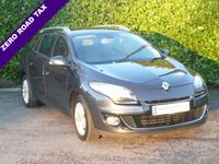 USED 2013 63 RENAULT MEGANE 1.5 DYNAMIQUE TOMTOM ENERGY DCI ESTATE S/S 5d 110 BHP
