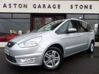 2013 FORD GALAXY 2.0 ZETEC TDCI 138 BHP **PARKING SENSORS** £11989.00