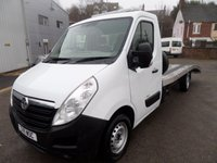 2011 VAUXHALL MOVANO 2.3 F3500 L3H1 CDTI 1d 99 BHP FLAT BED RECOVERY, NEW BUILD PLUS VAT £10995.00
