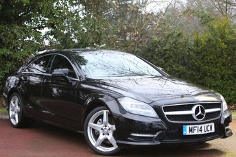 2014 MERCEDES-BENZ CLS CLASS 3.0 CLS350 CDI BLUEEFFICIENCY AMG SPORT 4d AUTO 265 BHP £21945.00