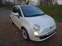 2008 FIAT 500 1.2 SPORT 3d 69 BHP £4650.00